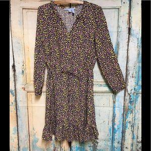 Draper James Floral Grace Charm Flirty Dress S